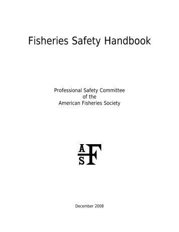 Fisheries Safety Handbook - American Fisheries Society
