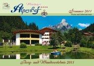 Berg- und Wandererlebnis 2011