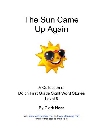 Dolch First Grade Sight Word Stories Level 8 - Reading Hawk