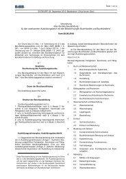 Ausbildungsverordnung Buchhändler/in - Wir gestalten Berufsbildung