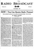 Radio Broadcast - 1927, October - 81 Pages, 8.1 ... - VacuumTubeEra - Page 4
