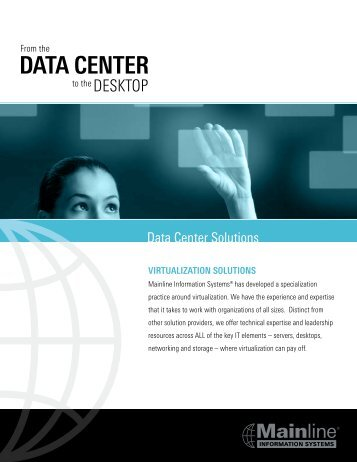 Virtualization Brochure - Mainline Information Systems