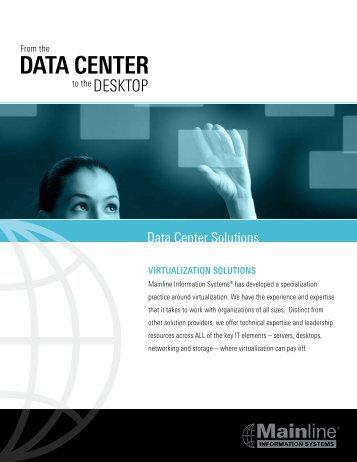 Virtualization Brochure - Mainline Information Systems
