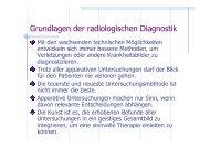 Grundlagen der radiologischen Diagnostik - Nicolas-jorden.de