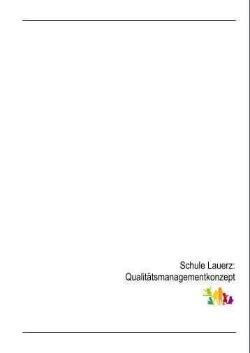 Q-Konzept - Gemeinde Lauerz