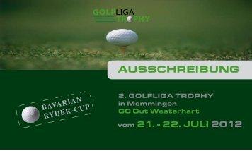 AUSSCHREIBUNG - Golfclub Dillingen