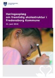 Høringsoplæg om fremtidig skolestruktur i ... - Humlebæk Skole