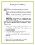 Nomination Process for ONESTEP's Executive Leadership Award - Page 2