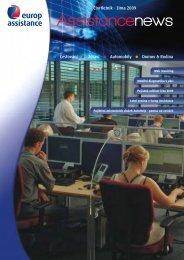 newsletter v.16 - Europ Assistance
