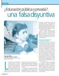 ¿Educación pública o privada? - Revista Perspectiva