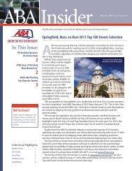 March 1, 2010 - American Bus Association
