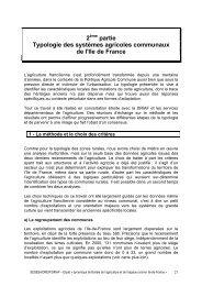 Typologie des systèmes agricoles communaux de - DRIAAF Ile-de ...