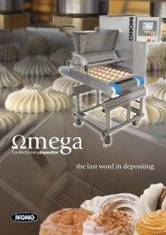 Omega brochure V5.indd - Unisource food Equipment