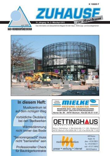 März/April 2012 - Das Magazin für Haus