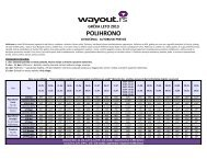 Polihrono - 10 noćenja apartmani - Wayout