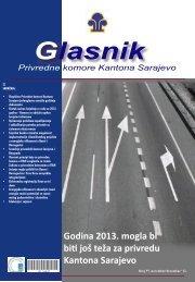 Godina 2013. mogla bi biti još teža za privredu Kantona Sarajevo
