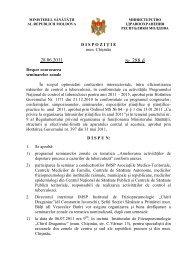 Dispoziţie nr. 228d din 28.06.2011 Cu privire la convocarea ...