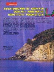 versioni .. cromatiche - Gilera Bi4