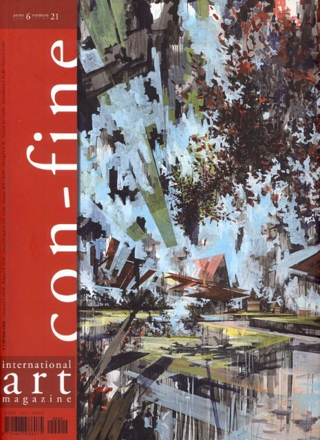 """con-fine"" - international art magazine - 2011 - Ciervo.org"
