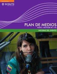 Informe +Network 89 - Scouts de Venezuela