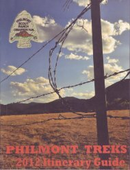 2012 Itinerary Guide - Philmont Document Archives