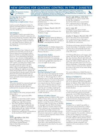 to view pdf. - U.S. Pharmacist