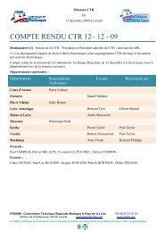 Compte-Rendu format PDF - Commission technique régionale ...