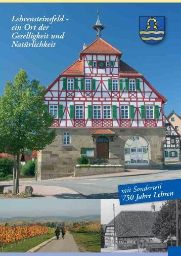ein Ort der Geselligkeit und Natürlichkeit - Gemeinde Lehrensteinsfeld