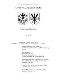 LTK publicering - Protokoller - Lyngby Taarbæk Kommune