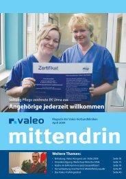 Valeo mittendrin April 2009
