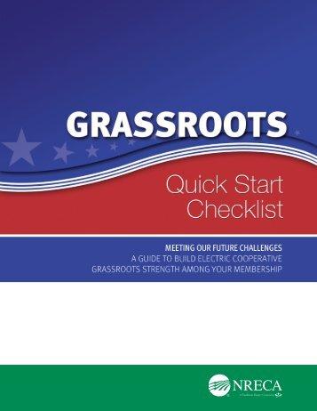 Grassroots Quickstart Checklist - National Rural Electric Cooperative ...