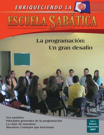 Material de Capacitación - Escuela Sabática