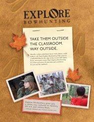 ATA Explore Bowhunting Brochure