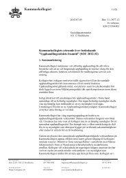 Remissvar Upphandlingsstödsutredningen SOU 2012_32