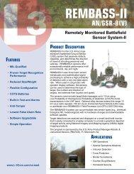 REMBASS-II - L-3 Communications