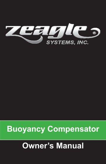 Buoyancy Compensator Owner's Manual - Zeagle