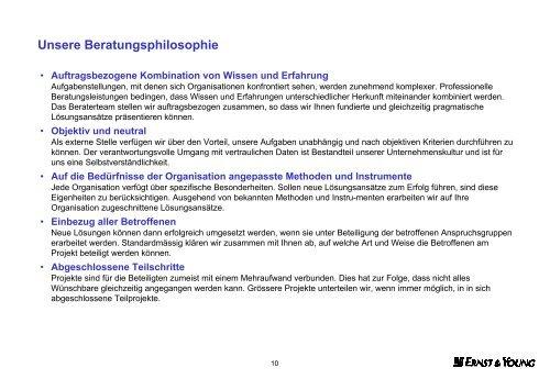 Wirkungsvolle Steuerung und Aufsicht von ... - Schweiz