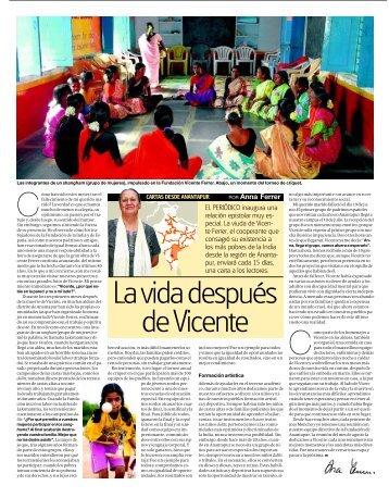 Recull de Premsa - Fundación Vicente Ferrer