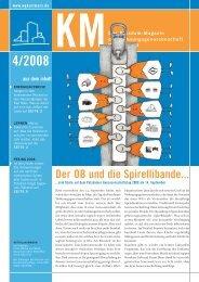 KM Magazin 4/2008 - Wohnungsgenossenschaft