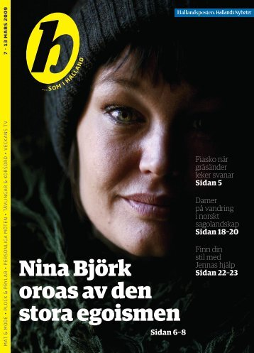 Nina Björk oroas av den stora egoismen - Ribergård & Munk