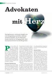 Advokaten mit Herz - P+P Pöllath + Partners