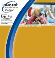 SD-70 Lap Dog Trainer - RadioFence.com
