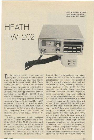 Heath HW-202 Review - Nostalgic Kits Central