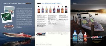 G1008 - Products for Marine Applications Brochure - OilTek Solutions