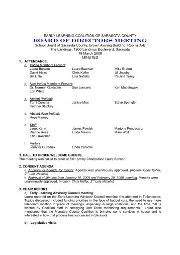 3-19-08 ELC Board minutes final.pdf - Early Learning Coalition of ...