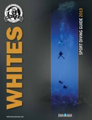 SPORT DIVING GUIDE 2013 - Whites Diving