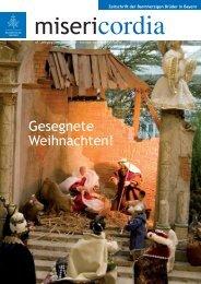 Gesegnete Weihnachten! - Orden der Barmherzigen Brüder Bayern