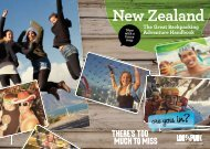 The Great Backpacking Adventure Handbook - New Zealand
