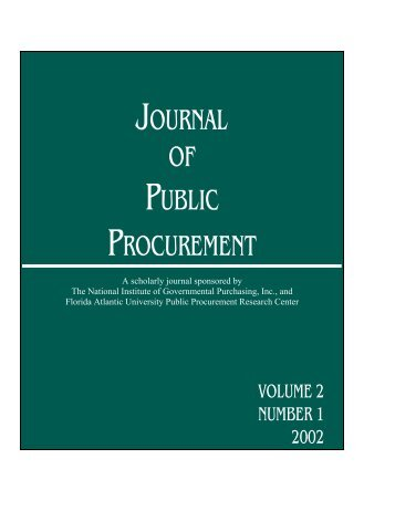 volume 2, issue number 1 - ippa.org - International Public ...
