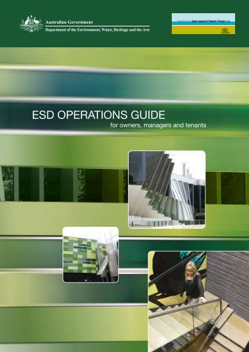 esd operations guide - Department of Sustainability, Environment ...